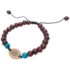 Sherpa Mala Endless Knot Armband, brown